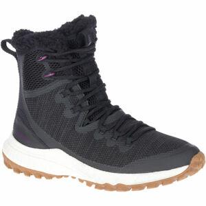 Merrell BRAVADA KNIT PLR WP černá 4.5 - Dámské zimní boty