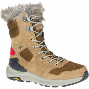 Merrell ONTARIO TALL PLR WP hnědá 5.5 - Dámské zimní boty