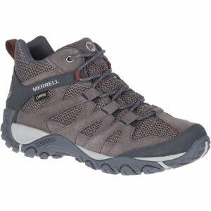 Merrell ALVERSTONE MID GTX hnědá 9 - Pánské outdoorové boty