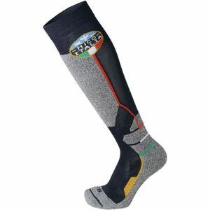 Mico WEIGHT OFFICIAL ITA SKI SOCKS JR šedá L - Dětské lyžařské ponožky