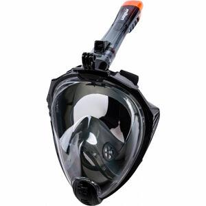 Miton UTILA 2 černá S/M - Celoobličejová šnorchlovací maska