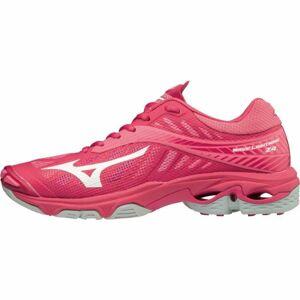 Mizuno WAVE LIGHTNING Z4 W růžová 4.5 - Dámská volejbalová obuv