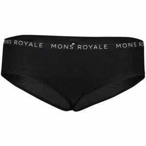 MONS ROYALE FOLO BRIEF černá L - Sportovní kalhotky z merino vlny