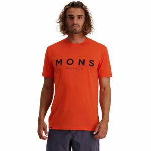MONS ROYALE ICON  XL - Pánské triko z merino vlny