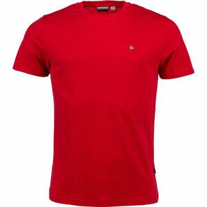 Napapijri SELIOS 2 červená S - Pánské tričko