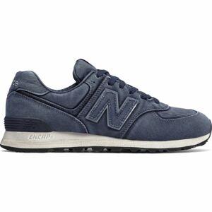 New Balance ML574WSA modrá 8 - Pánská vycházková obuv