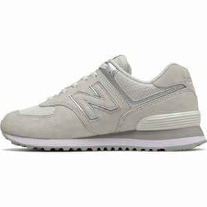 New Balance WL574EX šedá 4 - Dámská volnočasová obuv