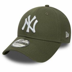 New Era MLB 9FORTY NEW YORK YANKEES tmavě zelená  - Pánská klubová kšiltovka