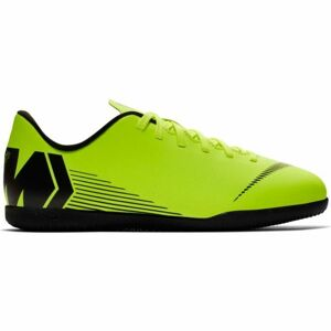 Nike JR MERCURIALX VAPOR 12 CLUB IC světle zelená 4 - Dětské sálovky