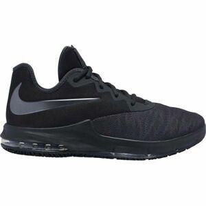 Nike AIR MAX INFURIATE III LOW černá 11.5 - Pánská basketbalová obuv