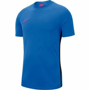 Nike DRY ACDMY TOP SS M modrá XL - Pánské fotbalové tričko