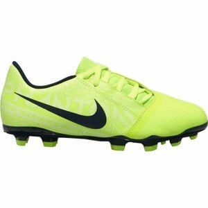 Nike JR PHANTOM VENOM CLUB FG světle zelená 1.5 - Chlapecké lisovky
