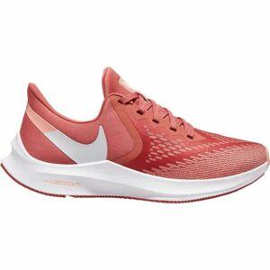 Nike ZOOM WINFLO 6 W červená 7 - Dámská běžecká obuv
