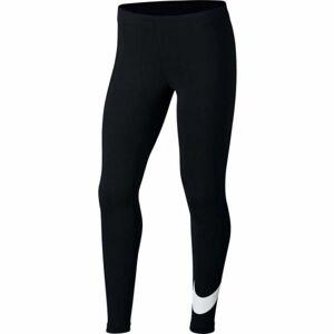 Nike NSW FAVORITES SWSH černá S - Dívčí legíny