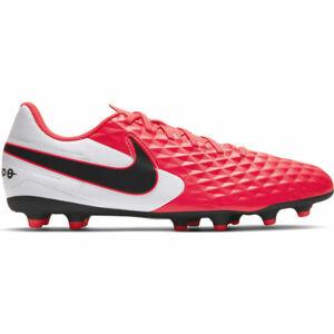 Nike TIEMPO LEGEND 8 CLUB FG/MG růžová 10 - Pánské kopačky