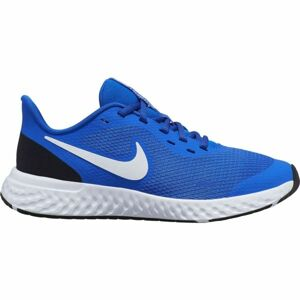 Nike REVOLUTION 5 GS modrá 6 - Dětská běžecká obuv