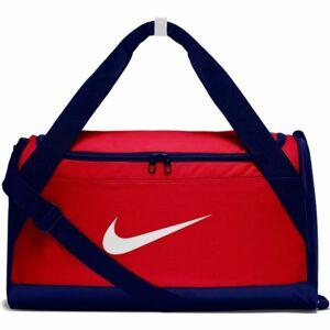 Nike BRSLA S DUFF červená S - Sportovní taška