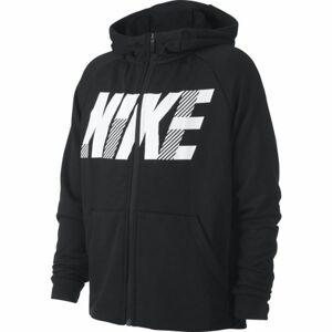 Nike DRY GFX FZ HOODIE B černá M - Chlapecká mikina
