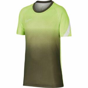 Nike DRY ACD TOP SS GX FP zelená M - Chlapecké fotbalové tričko