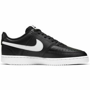 Nike COURT VISION LOW WMNS černá 6.5 - Dámská volnočasová obuv