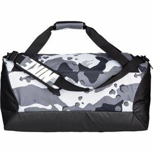 Nike BRASILIA M DUFF - 9.0 AOP3 černá NS - Sportovní taška