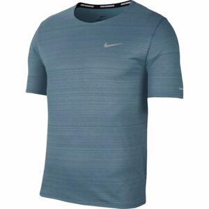 Nike DRI-FIT MILER modrá L - Pánské běžecké tričko