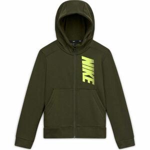 Nike B NK DRY FLC FZ GFX  XL - Chlapecká mikina