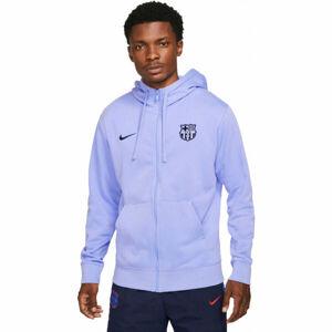 Nike FCB M NSW CLUB HOODIE FZ FT  2XL - Pánská fotbalová mikina