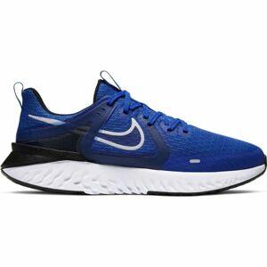 Nike LEGEND REACT 2 modrá 11.5 - Pánská běžecká obuv