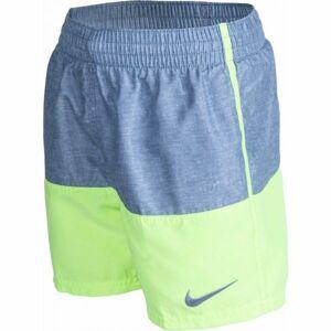 Nike LINEN SPLIT BOYS šedá S - Chlapecké kraťasy do vody