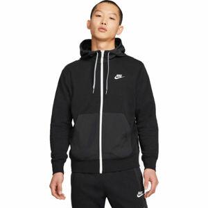 Nike NSW CE FZ FT HOODIE SNL ++  S - Pánská mikina