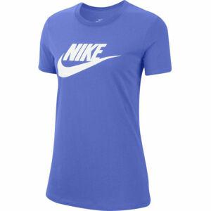 Nike NSW TEE ESSNTL ICON FUTUR W fialová M - Dámské tričko