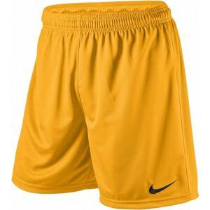 Nike PARK KNIT SHORT YOUTH žlutá XS - Dětské fotbalové trenky