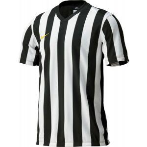 Nike STRIPED DIVISION JERSEY YOUTH černá M - Dětský fotbalový dres