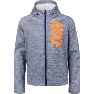 Nike THERMA GFX FZ HOODIE B  XL - Chlapecká mikina