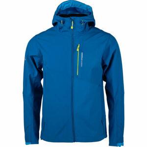 Northfinder GAXYM modrá XL - Pánská softshellová bunda