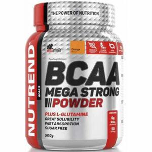Nutrend BCAA MEGA STRONG POMERANČ 300 G  NS - BCAA