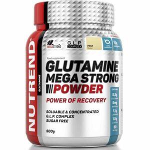 Nutrend GLUTAMINE MEGA STRONG POWDER 500G HRUŠKA  NS - Aminokyseliny