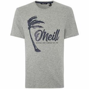 O'Neill LM PALM GRAPHIC T-SHIRT šedá S - Pánské tričko