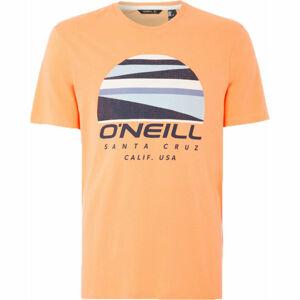 O'Neill LM SUNSET LOGO T-SHIRT oranžová M - Pánské tričko