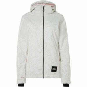 O'Neill PW WAVELITE JACKET bílá M - Dámská lyžařská/snowboardová bunda