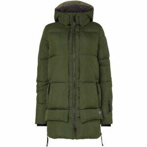 O'Neill PW AZURITE JACKET tmavě zelená S - Dámská zimní bunda
