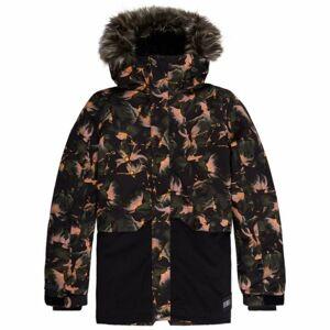 O'Neill PG FUR ZEOLITE JACKET černá 128 - Dívčí snowboardová/lyžařská bunda