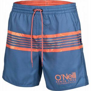 O'Neill PM CALI STRIPE SHORTS modrá XL - Pánské šortky do vody