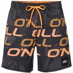O'Neill PM STACKED SHORTS černá XL - Pánské koupací šortky