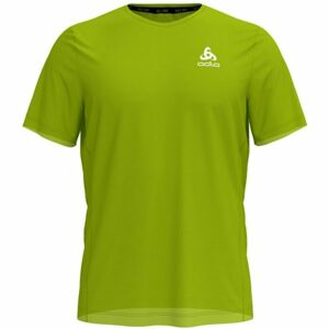 Odlo MEN'S T-SHIRT S/S CREW NECK ELEMENT LIGHT SPECIAL zelená L - Pánské triko