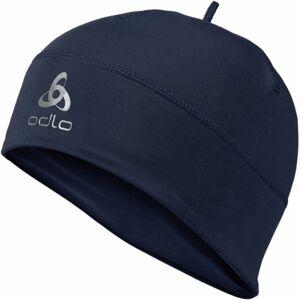Odlo HAT POLYKNIT WARM tmavě modrá UNI - Funkční zimní čepice