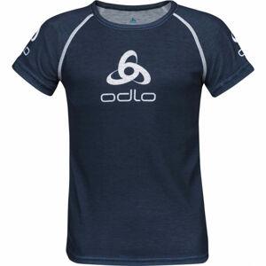 Odlo SUW KID'S TOP CREW NECK S/S ORIGINALS LIGHT černá 152 - Dětské tričko