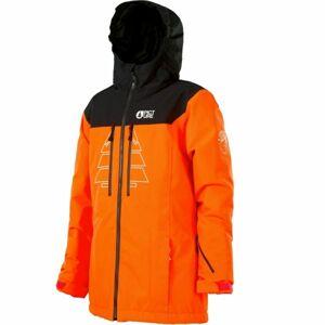 Picture PRODEN oranžová 10 - Dětská lyžařská bunda