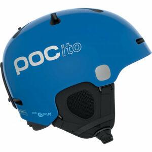 POC POCito FORNIX SPIN modrá 51/56 - Dětská lyžařská helma